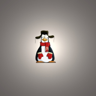 Kostenloses Funny Penguin Illustration Wallpaper für 208x208