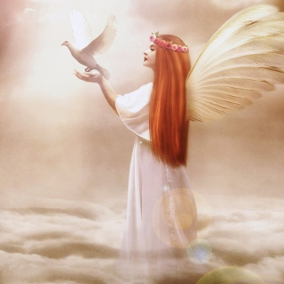 Free Angel From Dream Picture for iPad mini 2
