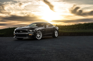 Ford Mustang 2015 Avant Wallpaper for Android, iPhone and iPad