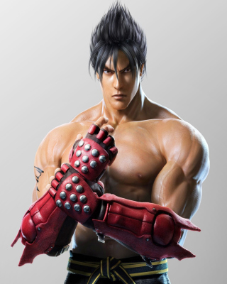 Kostenloses Jin Kazama, The Tekken Game Wallpaper für iPhone 5C