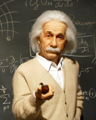 Einstein and Formula Wallpaper for Nokia C-5 5MP