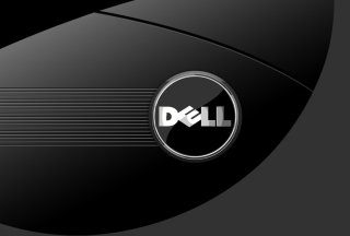 Dell Black And White Logo - Fondos de pantalla gratis