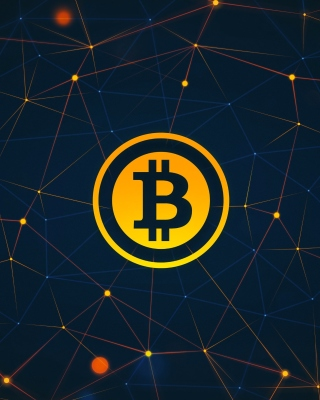 Bitcoin Cryptocurrency Wallpaper for Nokia C5-06
