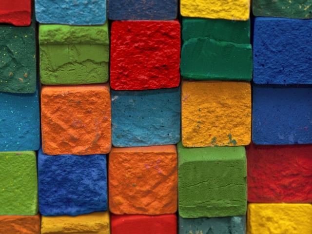 Colorful Bricks para Sony Ericsson XPERIA X8