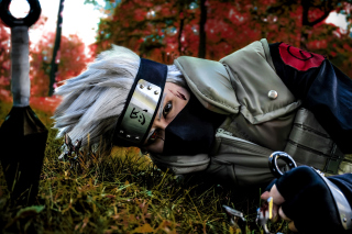 Hatake Kakashi Cosplay Costume Background for Android, iPhone and iPad