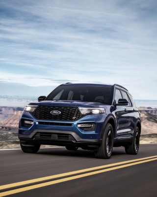 Обои 2020 Ford Explorer ST для iPhone 6