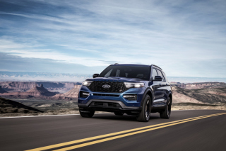 2020 Ford Explorer ST Wallpaper for Android, iPhone and iPad