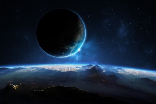 Free Distant Planet Picture for 640x480