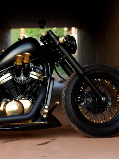 Screenshot №1 pro téma Bobber Hooligan Bike 240x320