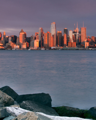 Sunrise Over Manhattan - Fondos de pantalla gratis para HTC Pure