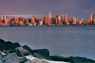 Sunrise Over Manhattan - Fondos de pantalla gratis
