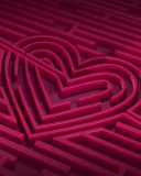Claret Heart wallpaper 128x160