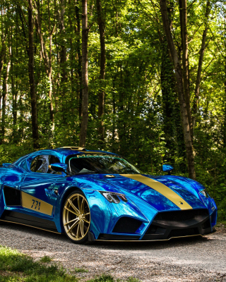 Mazzanti Evantra Background for Nokia 5800 XpressMusic