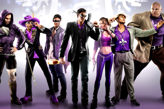 Saints Row IV Background for Android, iPhone and iPad