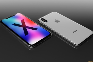 Обои IPhone X Smartphone на Android 480x800