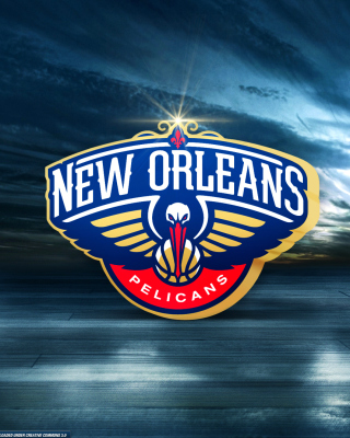 Free New Orleans Pelicans Logo Picture for 320x480