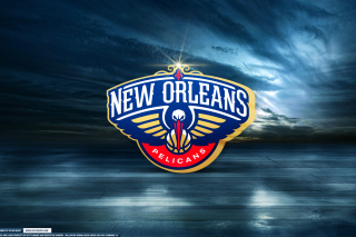 New Orleans Pelicans Logo Wallpaper for Android, iPhone and iPad