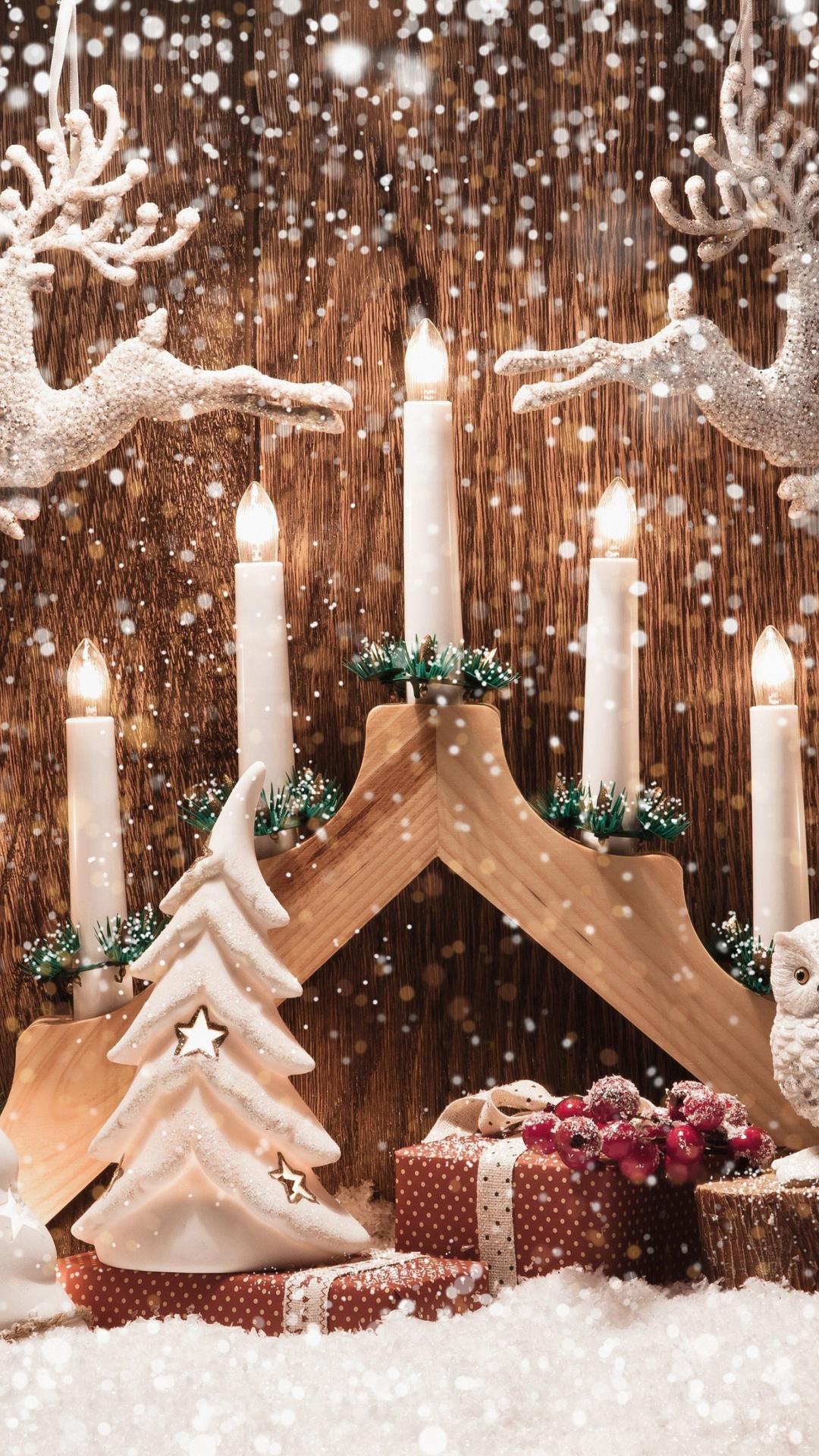 Картинки с рождеством на айфон