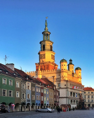 Poznan Background for Nokia C-5 5MP
