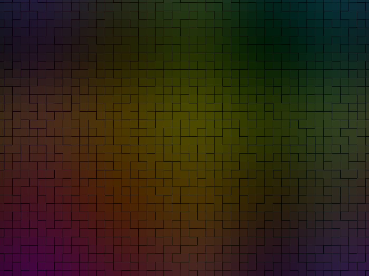 Das Rainbow Tiles Wallpaper 1400x1050