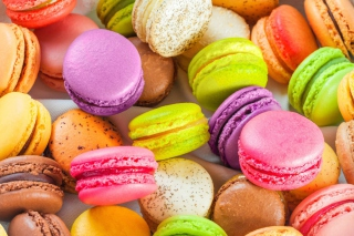 French Macaroon Background for Android, iPhone and iPad