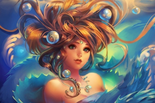 Girl Under Water sfondi gratuiti per cellulari Android, iPhone, iPad e desktop