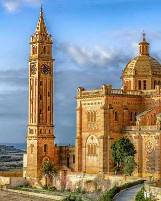 Malta Church Picture for Nokia Asha 306
