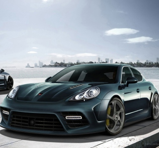 Mansory Porsche Panamera Background for iPad Air
