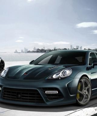 Mansory Porsche Panamera Wallpaper for Nokia C5-03