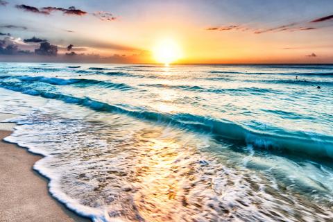 Sunset Beach para LG E400 Optimus L3