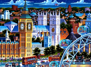 Kostenloses Life In The City Wallpaper für Android, iPhone und iPad