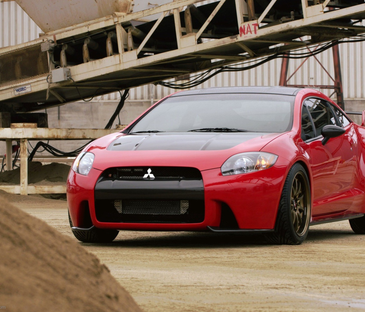 Screenshot №1 pro téma Mitsubishi Eclipse Ralliart Concept 1200x1024