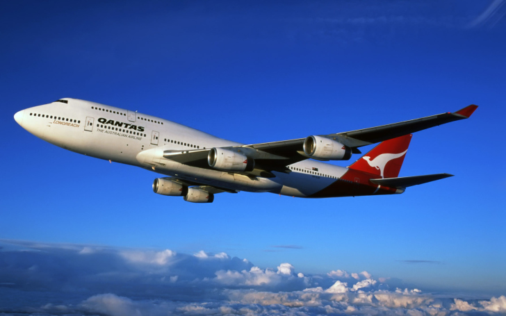 Screenshot №1 pro téma Aviation - Australian Airlines
