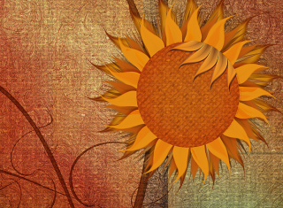 Sunflower Wallpaper for Android, iPhone and iPad