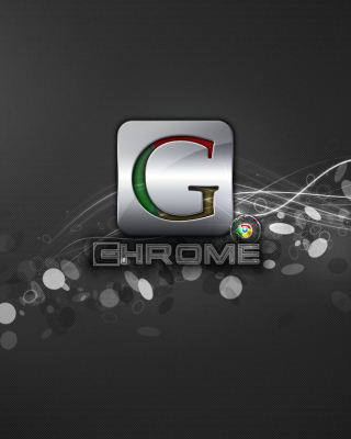 Kostenloses Chrome Edition Wallpaper für iPhone 6 Plus