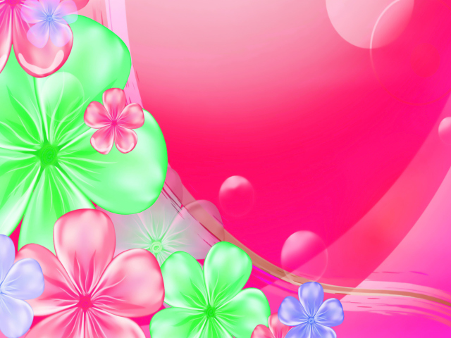 Pink Floral para Sony Ericsson XPERIA X8