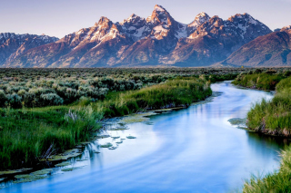 Grand Teton National Park sfondi gratuiti per cellulari Android, iPhone, iPad e desktop