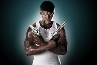 50 Cent Rapper Wallpaper for 220x176