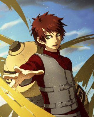 Gaara Kazekage Naruto Picture for 480x640