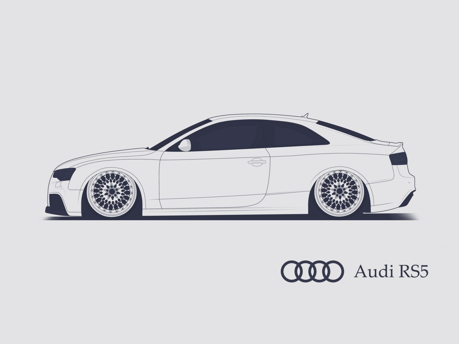 Screenshot №1 pro téma Audi RS 5 Advertising 1600x1200