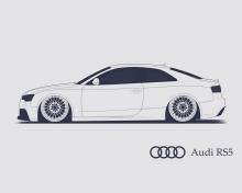 Screenshot №1 pro téma Audi RS 5 Advertising 220x176