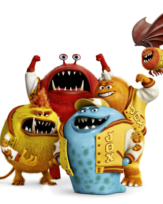 Monsters University, Jaws Theta Chi students sfondi gratuiti per Nokia C2-05