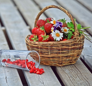 Картинка Strawberry Basket для iPad mini