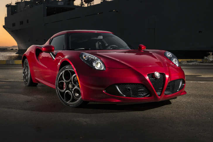 Das Alfa Romeo 4C Wallpaper