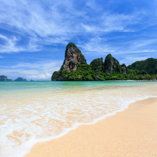 Kostenloses Railay Beach in Thailand Wallpaper für iPad 3