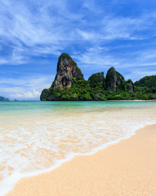 Railay Beach in Thailand sfondi gratuiti per iPhone 4S