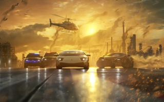 Kostenloses Need for Speed: Most Wanted Wallpaper für LG P700 Optimus L7