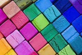 Colorful Cubes Wallpaper for Android, iPhone and iPad
