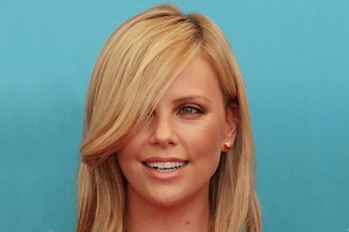 Charlize Theron Smile Wallpaper for Android, iPhone and iPad