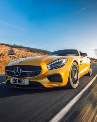 Mercedes AMG GT Background for Nokia C-5 5MP